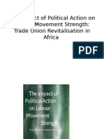 Trade Union Revitalisation in Africa