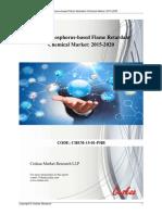 Global Phosphorus based Flame Retardant Market