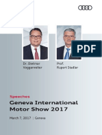 Speeches Geneva International Motor Show 2017