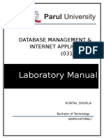 Dmia Lab Manual Sem IV 2017