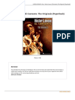 Hector Lavoe El Cantante the Originals Paperback Doc