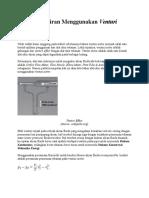 Alat Ukur Aliran Menggunakan Venturi Meter