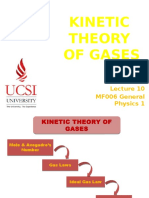 12. MF006 Lecture 10 - Kinetic Theory of Gases(2)
