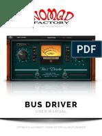NomadFactory BusDriver Manual