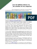 Detectores de Billetes Falsos, La Solución a Las Estafas en Los Negocios