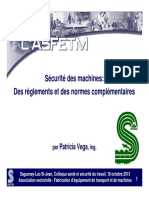 Securite Des Machines 1310181