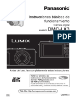Manual Operacion Panasonic Lumix LX3