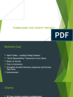 Fundraising for Charity Project