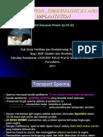 Fertlisasi, Implantasi, Cleavage (LC-1 Unsoed)