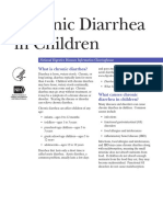 Chronic Diarrhea in Children