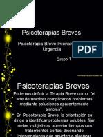 PPT Psicoterapia Berve, intensiva y de urgencia