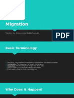 migration - environment