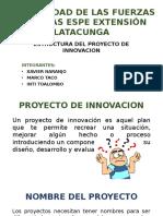 Estructura Proyecto Innovador