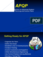 Getting Ready for APQP