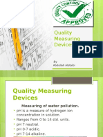Quality Measuring Devices