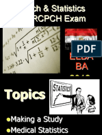 05. Research & Medical Statistics for MRCPCH.ppt