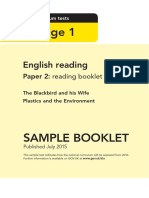 Sample Ks1 Englishreading Paper2 Readingbooklet