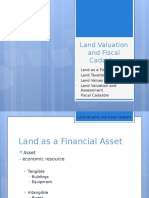 Land Valuation and Fiscal Cadastre