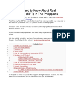 What You Need to Know About Real Property Tax (RPT) in the Philippines