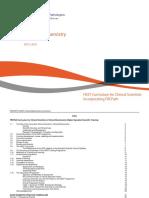 Clinical Biochemistry HSST Curriculum