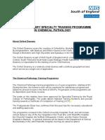 Chemical Pathology Job Description December 2011