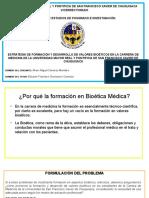 Tesis Bioética Defensa, USFXCH, Bolivia, Residencia, Médica, Especialidad, Sub Especialidad, Ciencias, Medicina