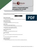 Informativo 813 Stf- ESQUEMATIZADO