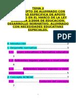 Tema 2. Desarrollo Normativo Acnee y Acneae