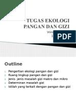 Tugas Ekologi Pangan Dan Gizi Ppt Putih