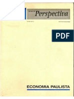 Economia Paulista Seade