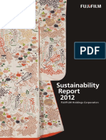 {2012} FujiFilm Sustainability Report