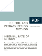 10. IRR, ERR and Payback.pptx-1470084967