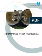 HOBAS - Deep Trench Pipe Systems