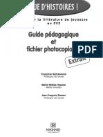 Guide Pédagogique Que d'Histoire CE2 Magnard Extrait