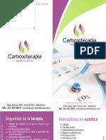 Brochure Carboxiterapia
