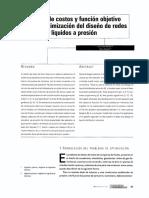 Optimización de Redes a Presión