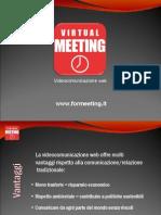Videoconferenza web Virtual Meeting