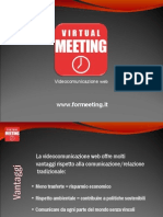 Videoconferenza web Virtual Meeting