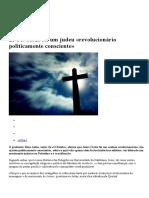 Livro--Jesus Foi Um Judeu -Revolucionário Politicamente Consciente