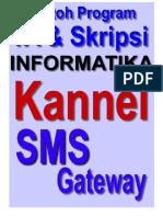 Kannel SMS Gateway Untuk Tugas Akhir Dan Skripsi