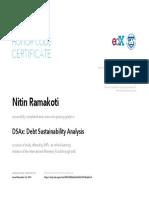 IMF Debt Sustainability Analysis