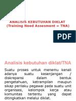 Analisis Kebutuhan Diklat (Tna)