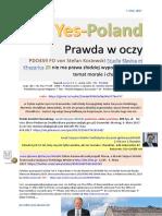 Yes-Poland Prawda w oczy PDO459 FO von Stefan Kosiewski Studia Slavica et Khazarica ZR nie ma prawa zlodziej wypowiadac sie na temat morale i charakteru ZECh 20170307 ME SOWA Jacek Saryusz Wolski