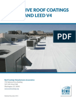 SS - Reflective Roof Coatings and LEED v4