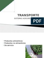 Transporte de productos alimenticios
