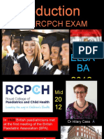 01. Introduction to MRCPCH Exam..Ppt