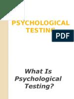 Psych Test Maed Csu