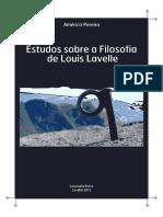 20131209-Americo Pereira 2013 Obras 1 Estudos Sobre a Filosofia de Louis Lavelle