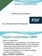Digital multimeter and fundamental units.pptx
