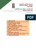 LAMPEA-Doc 2010 – numéro 24 / Vendredi 9 juillet 2010